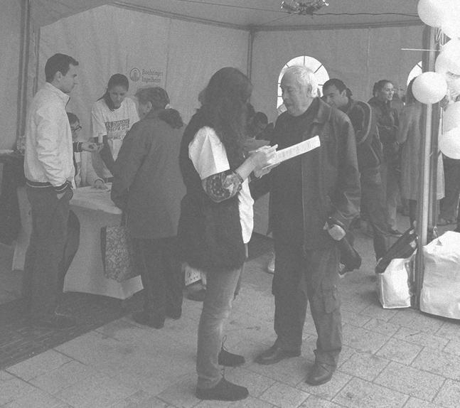 Световен ден на спирометрията, тента Spiriva, Плевен, 23.10.2014