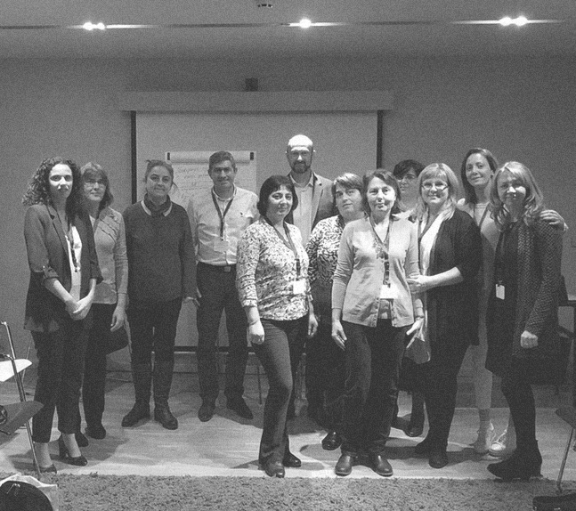 Academy for presentation and moderator skills, Module 1, Modus hotel, Varna, 16.12.2017